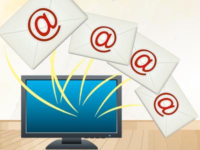 メールの一括送信