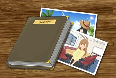 日記と写真